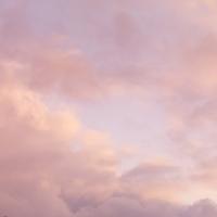 冬の夕焼けの空 20027003036| 写真素材・ストックフォト・画像・イラスト素材|アマナイメージズ