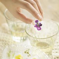 野花のアイスキューブ