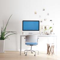 パソコンの置いてあるオフィス