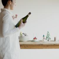 クリスマスパーティーの準備をする女性 20027008623| 写真素材・ストックフォト・画像・イラスト素材|アマナイメージズ