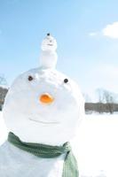 雪だるまの親子 20027009959| 写真素材・ストックフォト・画像・イラスト素材|アマナイメージズ