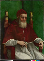 Portrait of Pope Julius II/教皇ユリウス2世