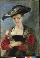 Portrait of Susanna Lunden(?) ('Le Chapeau de Paille')/ス 20036000141| 写真素材・ストックフォト・画像・イラスト素材|アマナイメージズ