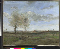 A Wagon in the Plains of Artois