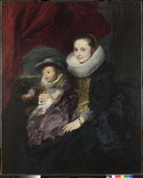 Portrait of a Woman and Child/女と子供