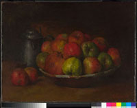 Still Life with Apples and a Pomegranate