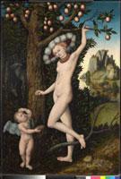 Cupid complaining to Venus 20036000440| 写真素材・ストックフォト・画像・イラスト素材|アマナイメージズ