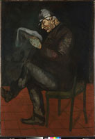 The Painter's Father,Louis-Auguste Cezanne