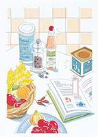 食材と調味料