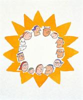 家族集合 20037001032| 写真素材・ストックフォト・画像・イラスト素材|アマナイメージズ