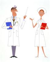 ナースと医者
