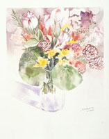 花瓶に飾られた花