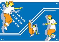ヒップホップダンスを踊る若者 20037001648| 写真素材・ストックフォト・画像・イラスト素材|アマナイメージズ