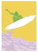 サーフィンをする若者 20037001839| 写真素材・ストックフォト・画像・イラスト素材|アマナイメージズ
