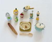 キッチン用品と食材