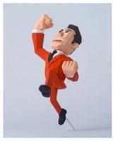 ガッツポーズをするスーツ姿の男性 20037002098| 写真素材・ストックフォト・画像・イラスト素材|アマナイメージズ
