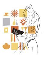 本を読む男性 20037002275| 写真素材・ストックフォト・画像・イラスト素材|アマナイメージズ