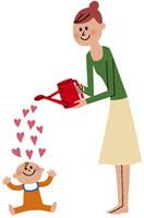 赤ちゃんに愛情を注ぐ母 20037002327| 写真素材・ストックフォト・画像・イラスト素材|アマナイメージズ