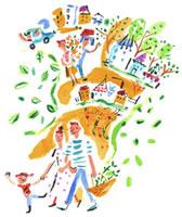 賑やかな街 20037002488| 写真素材・ストックフォト・画像・イラスト素材|アマナイメージズ