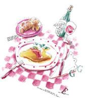 食卓 20037002525| 写真素材・ストックフォト・画像・イラスト素材|アマナイメージズ