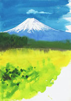 富士山(春) 20037002623| 写真素材・ストックフォト・画像・イラスト素材|アマナイメージズ