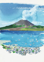 鹿児島県(夏)垂水市