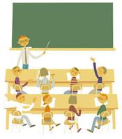 学校の授業風景