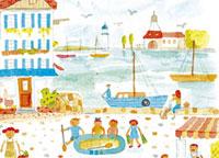 海際の街並み