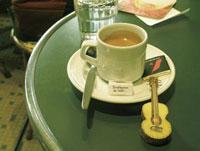 コーヒーとギターのクラフト