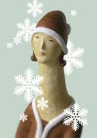 クリスマス女性イメージクラフト