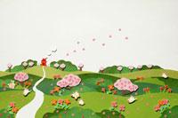 桜の見える風景