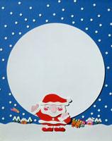 サンタクロース メッセージボード 20037003653| 写真素材・ストックフォト・画像・イラスト素材|アマナイメージズ