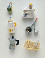 ミニチュアクラフトキッチンアイテム