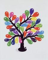 カラフルな実をつけた木 20037004209  写真素材・ストックフォト・画像・イラスト素材 アマナイメージズ