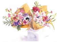 花束 20037004518| 写真素材・ストックフォト・画像・イラスト素材|アマナイメージズ