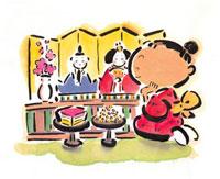 ひな祭りイメージ
