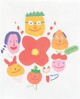花と人々 20037004653| 写真素材・ストックフォト・画像・イラスト素材|アマナイメージズ