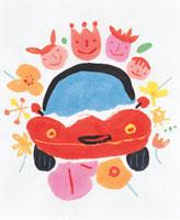 車と人々 20037004654| 写真素材・ストックフォト・画像・イラスト素材|アマナイメージズ