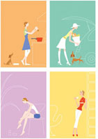 女性 生活イメージ