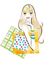 ショッピングイメージ 女性