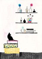 ネコとインテリア雑貨