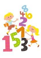 数字と子供