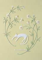 野菊と猫 クラフト