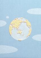 青空に浮かぶ地球 クラフト