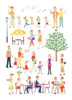 街の暮らしを楽しむ人々 20037008211| 写真素材・ストックフォト・画像・イラスト素材|アマナイメージズ