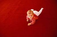 Crawling child