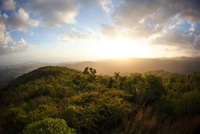 Sunset at Escambray mountain, Cuba
