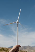 Fist and wind turbine