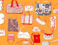 Variety of purses