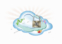 Cloud computing with padlocked data